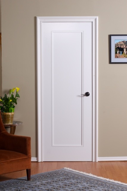 Doors inside what should you paint on the inside of your for Contemporary interior doors