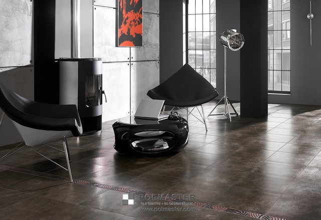 AVUS TILE COLLECTION contemporary-living-room