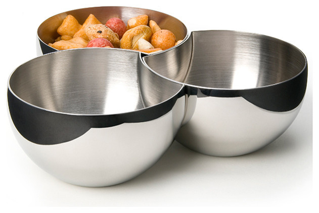 Carl Mertens - Liason 3PC Bowl Set modern-serveware