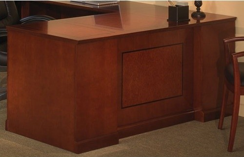 "Sorrento 72"" Double Pedestal Desk with Straight Front modern-home-office-accessories"