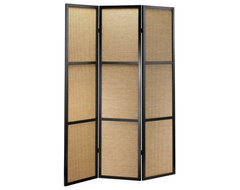 If you appreciate the clean lines of modern styles but enjoy the texture of natu contemporary-screens-and-room-dividers