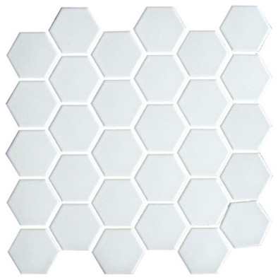 White Hexagon Floor Tile unglazed porcelain hex tile arctic white Images Of Hexagon Porcelain Tile