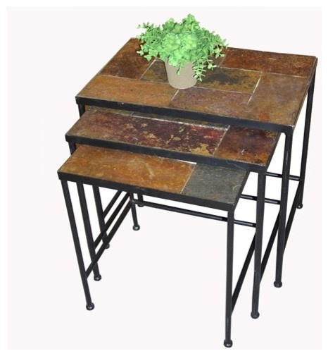 3 Piece Nesting Tables modern-side-tables-and-end-tables
