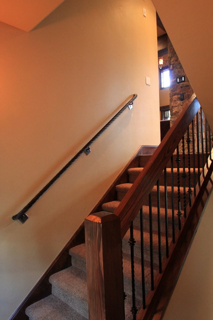 1296 Ski Hill Road traditional staircase