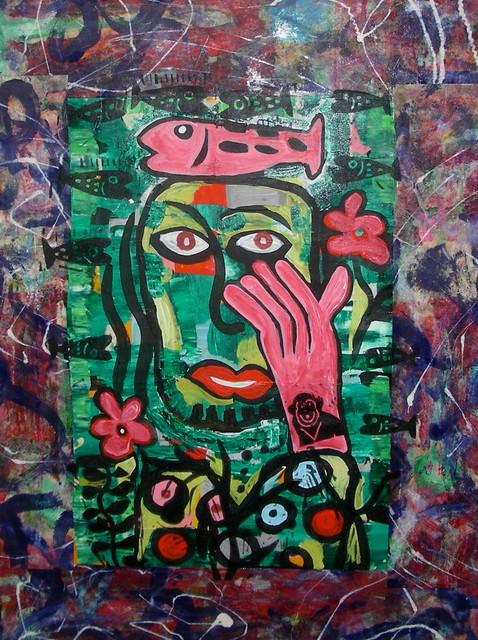 Art: faces artwork
