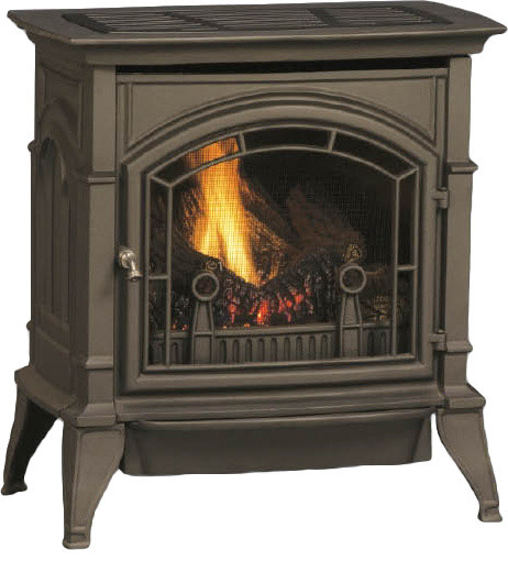 Majestic CSVF20SNVG CSVF Series Vent-Free Gas Stove modern-indoor-fireplaces