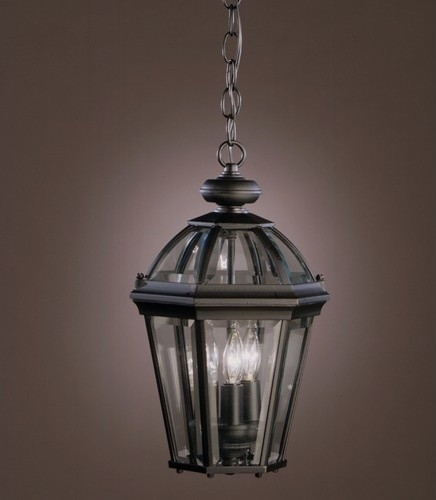 Trenton  Outdoor Pendant in Painted Black modern-lighting