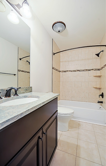 Luxury Green Home in Bethesda, MD traditional-bathroom