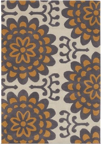 Wallflower Wool Rug modern rugs