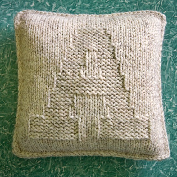 A is for Alphabet hand-knit pillow by The Creative Gene home-decor