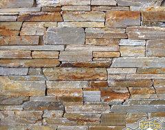 Honey Ledge Stone™ - stacked stone veneer modern-siding-and-stone-veneer
