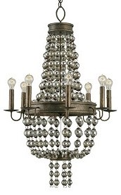 Spellbound Chandelier by Currey & Company contemporary-chandeliers