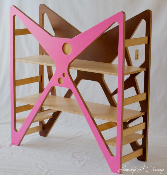Modern Children Bookshelf By Tot Republic modern-bookcases