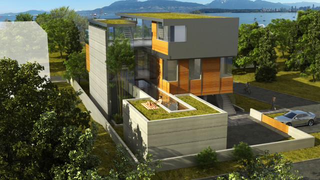 Point Grey contemporary-rendering