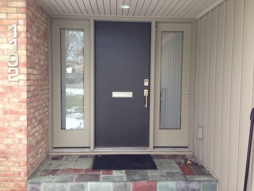 Want To Replace Tile On Front Door Step A Modern And