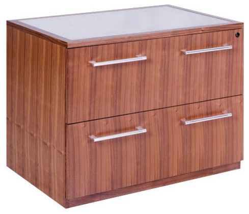 Radius Lateral File Cabinet - Contemporary - Filing Cabinets And Carts - by Inmod