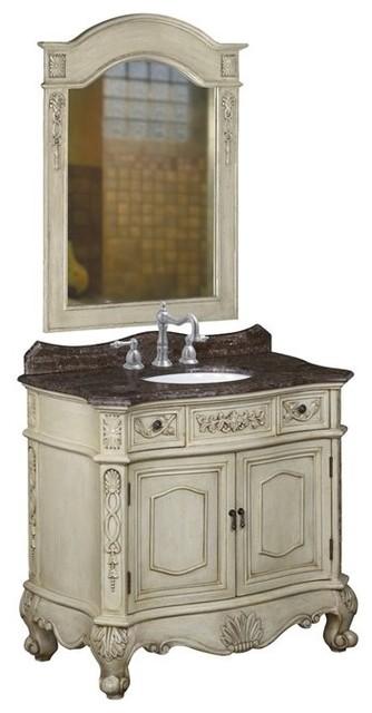 Belle Foret Model BF80062R Single Vanity bathroom-vanities-and-sink-consoles