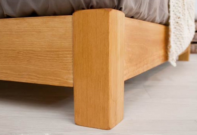Jervis space saving low queen timber bed frame for Space saving bed frame