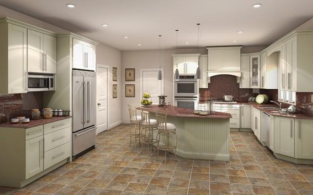 Statesman Linen Series RTA Cabinets -kitchen-cabinets