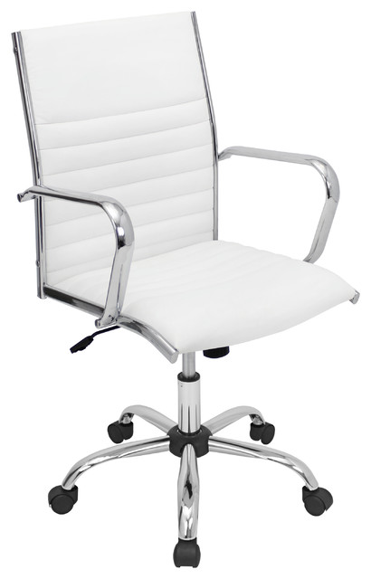 Master Office Chair - WHITE - contemporary - task chairs - chicago
