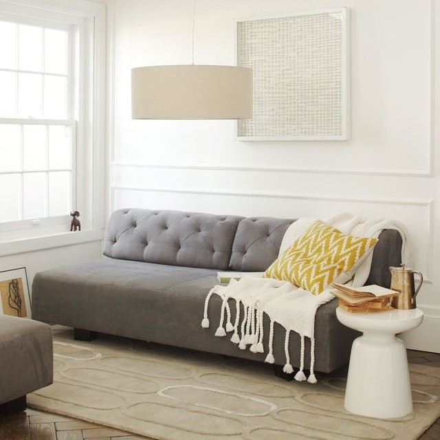 Tillary Tufted Sofa From West Elm