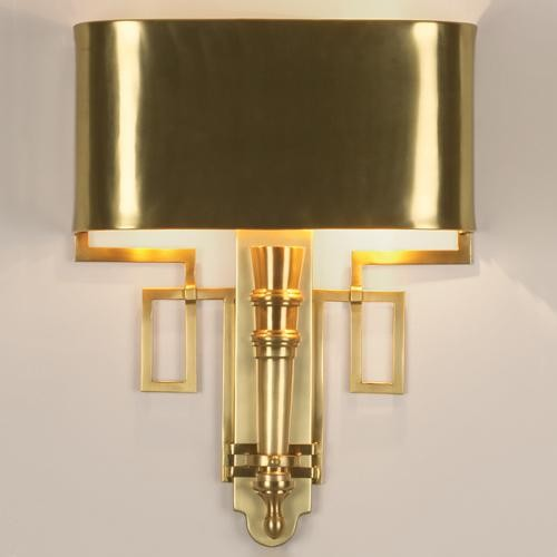 Wall Sconces Antique Brass : Global Views Hardwired Antique Brass Torch Sconce - Traditional - Wall Sconces - by Candelabra