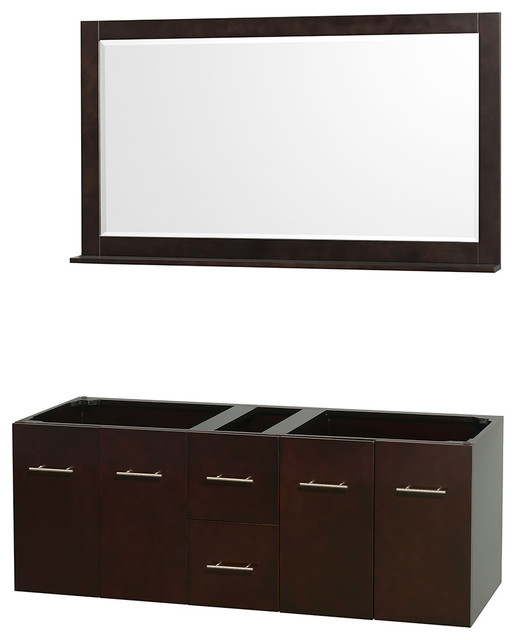 vanity no top no sinks mirror modern bathroom vanities and sink