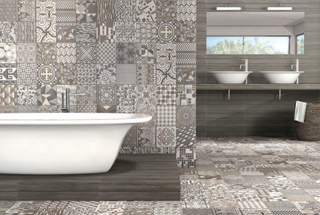 Beautiful Wet Room With Moroccan Inspired Tiles