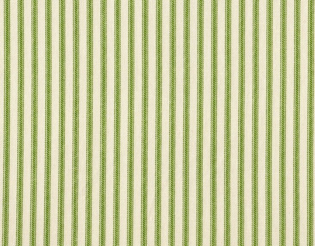 "24"" Tailored Tiers, Unlined, Ticking Stripe Apple Green traditional-curtains"