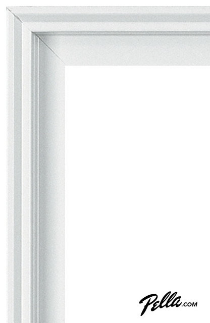 Enduraclad Exterior Finish In White Contemporary Windows And Doors Other Metro By Pella