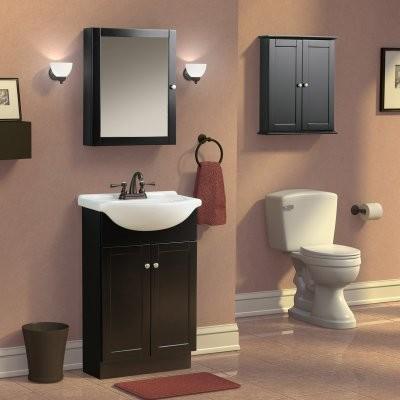 espresso bathroom medicine cabinet modern medicine cabinets by