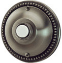NB4002P NuTone Pewter Flush Mount Pushbutton eclectic-home-electronics