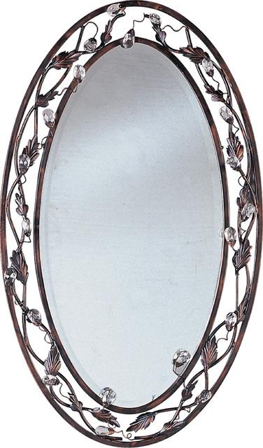Maxim Lighting 2849oi Elegante Oil Rubbed Bronze Mirror