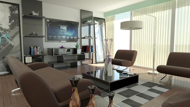 Living Room 6 modern-rendering