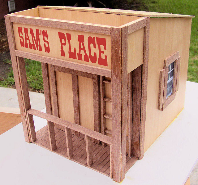 Sam's Place traditional-outdoor-playhouses