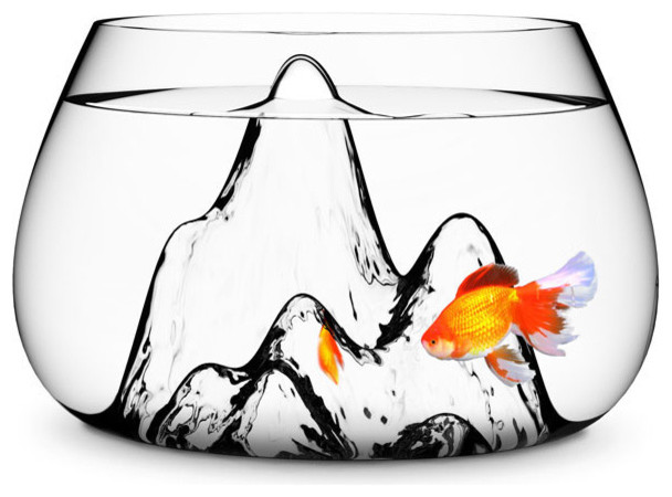 Fishscape Fish Bowl modern pet accessories