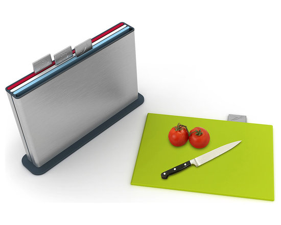 Stainless Steel Index Cutting Board -