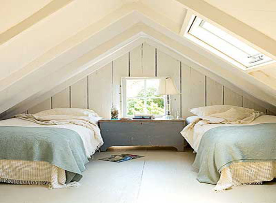 Small attic bedroom ideas small attic bedroom for Bedroom ideas low ceiling