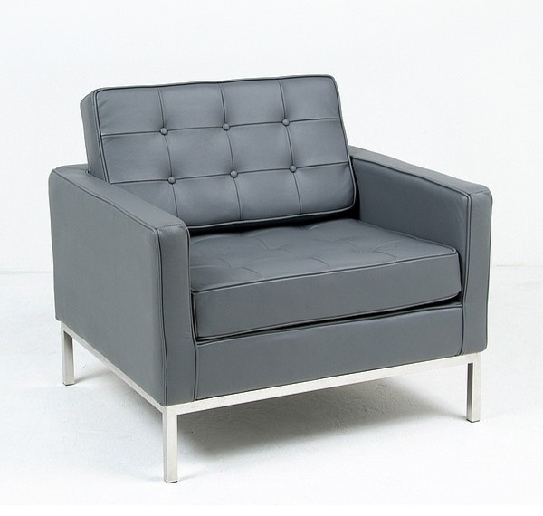 Florence knoll lounge chair reproduction modern for Modern reproduction furniture