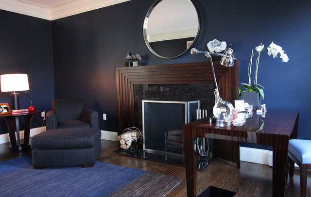 Tailored Sophistication contemporary-home-office