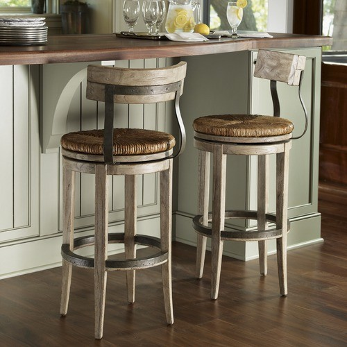 Twilight Bay Dalton Bar Stool In Distressed Textured Soft