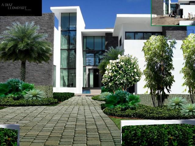 Miami beach proposal full property landscaping design for Landscape design miami