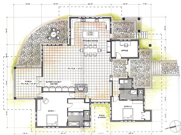 tropical house floor plans australia - architectural designs