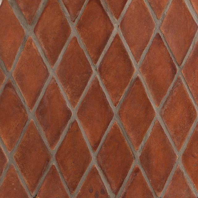 Spanish Stained Terracotta Tiles