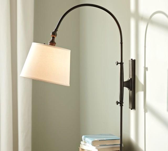 Adjustable Arc Sconce modern-wall-lighting