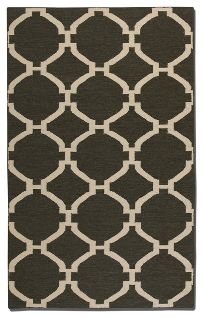 Bermuda 5 x 8 Rug - Charcoal traditional-rugs
