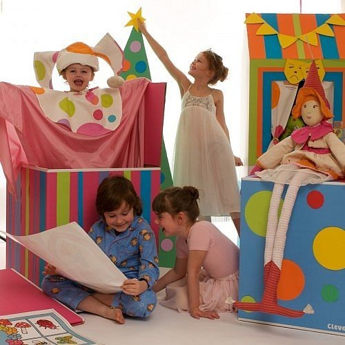 Coloured Cardboard Playhouses modern-kids-toys