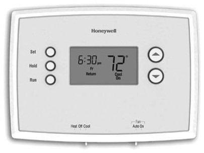 Programmable Thermostat 7 Day contemporary-hvac