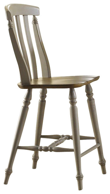 Liberty Furniture Al Fresco Transitional Counter Height Stool w/ Slat Back in Li traditional-bar-stools-and-counter-stools