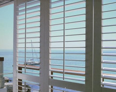 Norman Woodlore Plantation Shutter from Blinds.com traditional window treatments